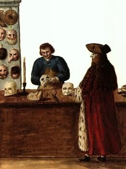 masques théâtre grec